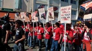 Bullfight Protest