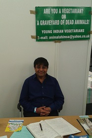Nitin at VegFest