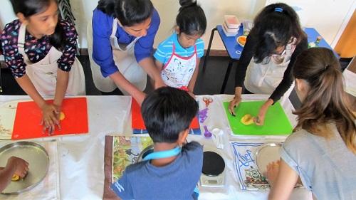 Shambhu's children's class